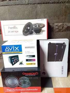 BEST SELLER audio mobil head unit paketan sound system layar monitor