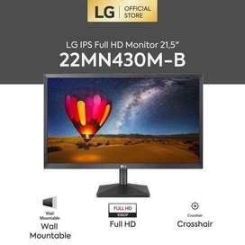 Monitor LG 22MN430M-B Full HD