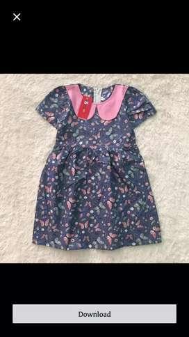 Dress anak untuk usia 3 tahunan