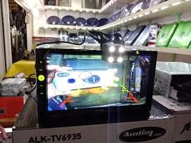 Plus pasang. Kamera mundur LED + DobelDin AudioLink DVD