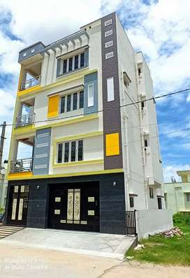 Brand new Independent Duplex House G+3 floors for sale.