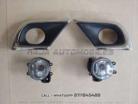 Innova Fog Lamp and Chrome Cover Pair # Ships Same Day