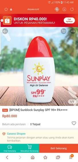 Sunscreen buat berjemur