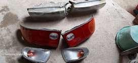 Lampu copotan mitsubishi lancer/evo 3 komplit