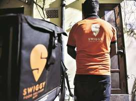 Food delivery job @ swiggy
