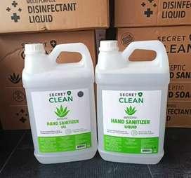 Hand Sanitizer Gel 5L