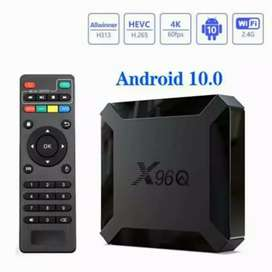 Smart box x96q mini quad core 2g+16g 4k android