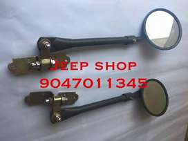 Willy's Jeep complete mirrors Set 1,500/- set