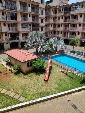 Gated complex with pool n garden