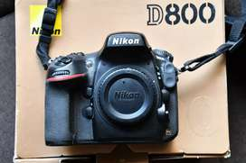 Nikon D800 + MB12 battery grip