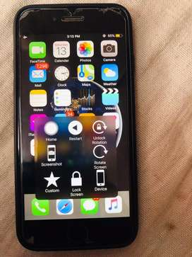 Iphone 6 32gb space grey only lock button not working with bill nd cha