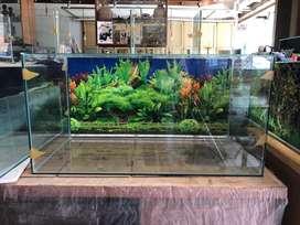 Aquarium ready 80x40x40 background