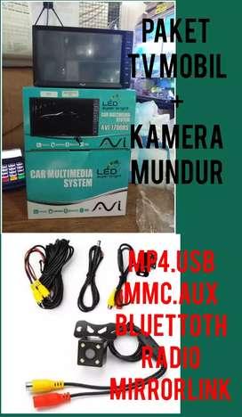 Paket Tv Mobil Plus Kamera Mundur Mirrorlink Android
