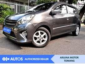 [OLX Autos] Toyota Agya 2015 1.0 G A/T Bensin Abu-abu #Arjuna Tomang