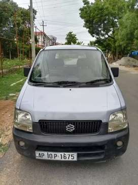 WagonR LX 2000 Model Light Blue Color