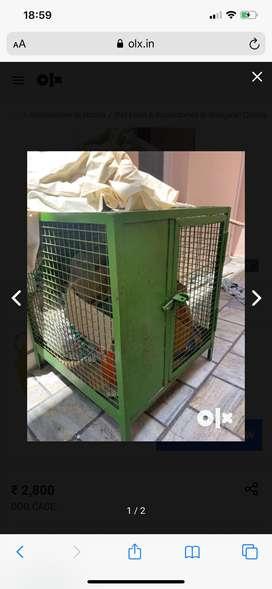 Dog cage - iron