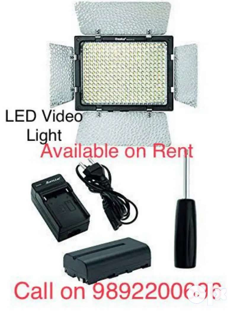 LED Video Light available on Rent