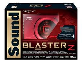 Creative SB1500 Sound Blaster Z SBX High Performance PCIE Gaming Sound