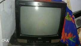 Black LG TV