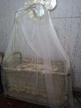 Imported 3 in1 Baby Cot/Bed,Not Used almost New.