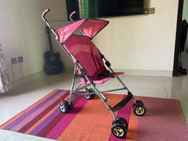 Branded - Zubaida's Juniors Stroller/Pram (Pink) - for Girls or Boys