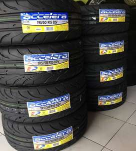 Jual ban mobil semi slick untuk brio ukuran 195 50 R15 accelera 651