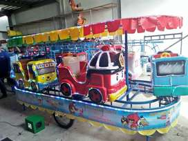 PROMO kereta panggung mini coaster pancingan elektrik komedi safari