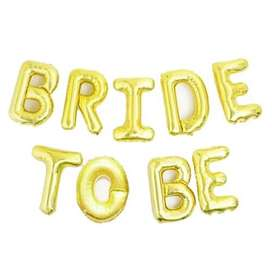 Bride to Be Foil Balloons For Bridal Shower