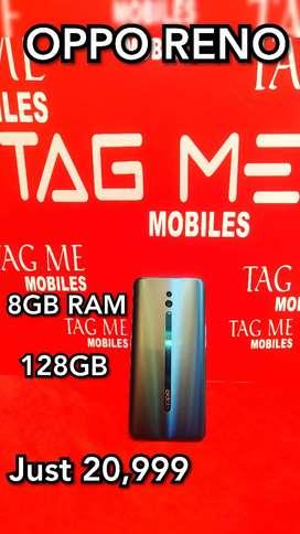 TAG ME OPPO RENO 8GB 128GB