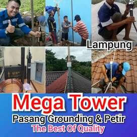 Proyek Pemasangan Anti Petir Radius Di Pringsewu / Lampung