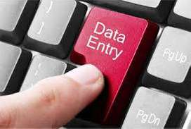 Vacancy in home based data entry projects