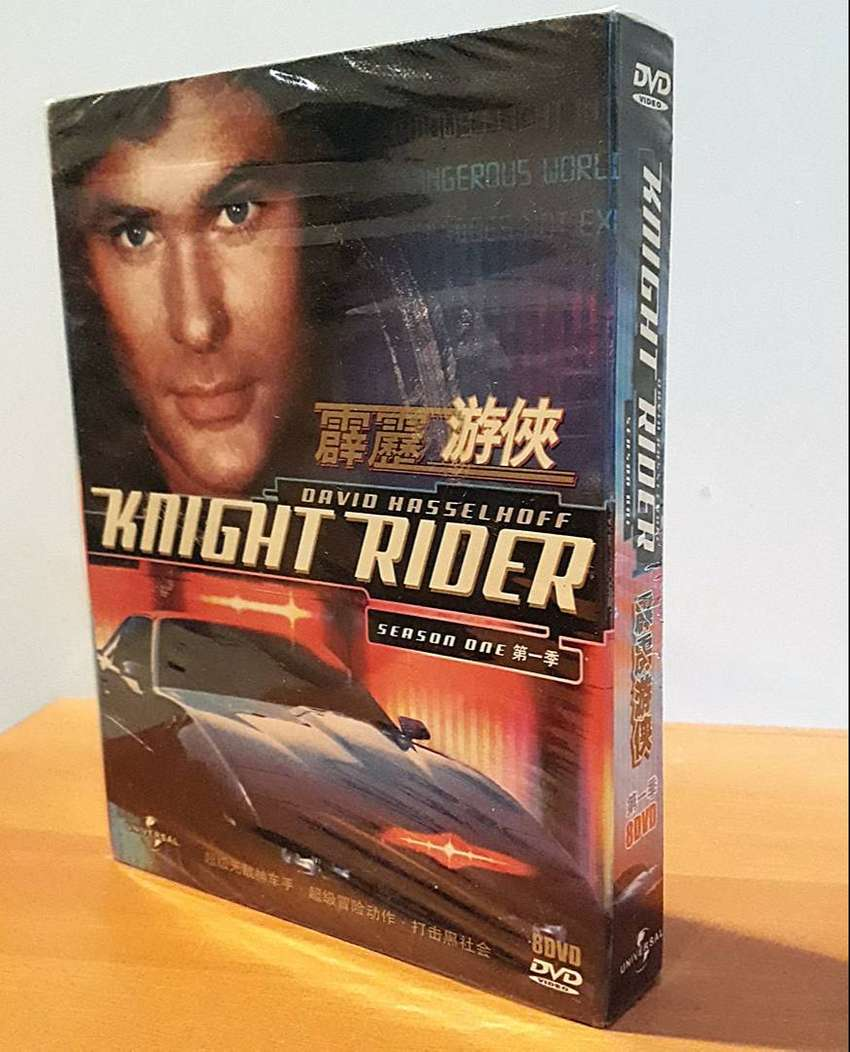 Knight Rider TV Series (1982–1986) Season One 8 DVD Original Box Set 0