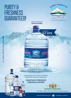 Sparkletts 12L Water Home Delivery