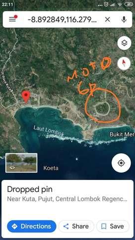 Tanah di Pantai Kuta Lombok (Mandalika) SIRKUIT MANDALIKA MOTOGP 2021