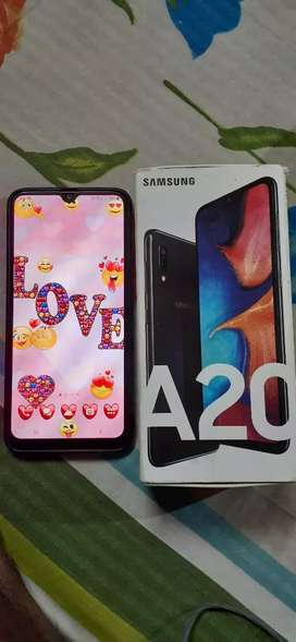 Samsung A20 6 month use