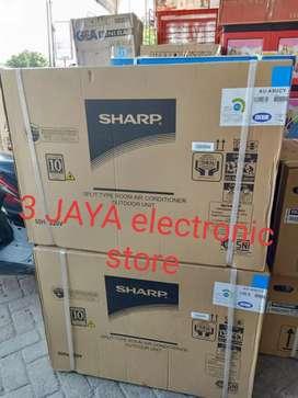 AC 1 pk - ac sharp 09 ucy plus jasa pasang & material