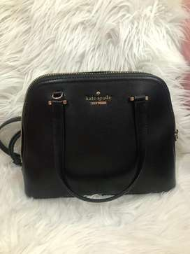 Kate Spade Dome Satchel Black ORIGINAL 100%