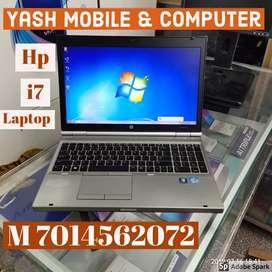 Hp probook 8470 i7 used laptop