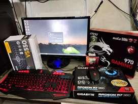Jual PC Gaming AMD-MSI