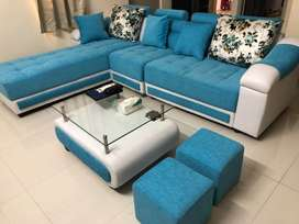 Almost brand new sofa set for sale