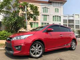 Toyota Yaris 1.5 S AT TRD Sportivo 2015 Red Limited Edition Sunroof