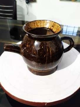 Coconut Shell Tea Pot