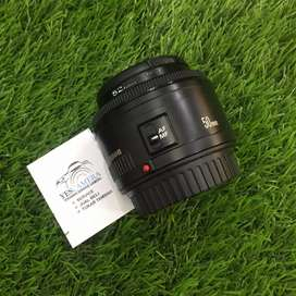 Lensa CANON EF 50mm 1:1.8 II
