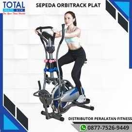 RECOMMENDED ! Sepeda statis Orbitrack Plat 6 Fungsi MURAH
