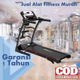 Treadmill Elektrik Total Fitness 2 hp TL 630 LIMITED STOCK
