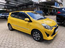 Toyota Agya 1.2 G manual 2019 plat Bh