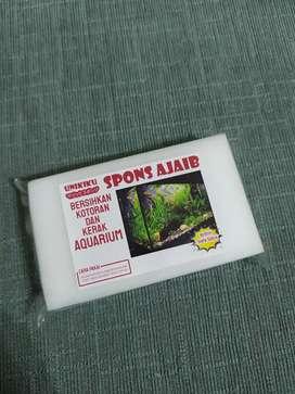 SPONS AJAIB PEMBERSIH Aquarium tanpa sabun