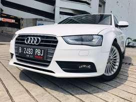 Audi A4 1.8 TFSI 2012 White On Black