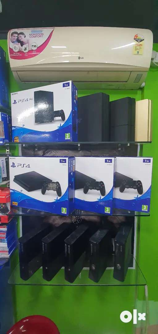 Ps4 1tb consoles new ad used
