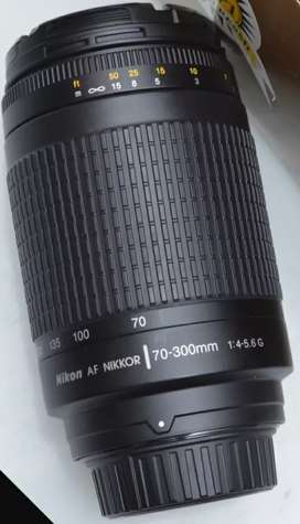 Lensa Nikon AFS 70-300